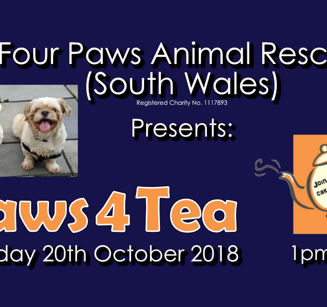 FPARSW Event – Paws4Tea